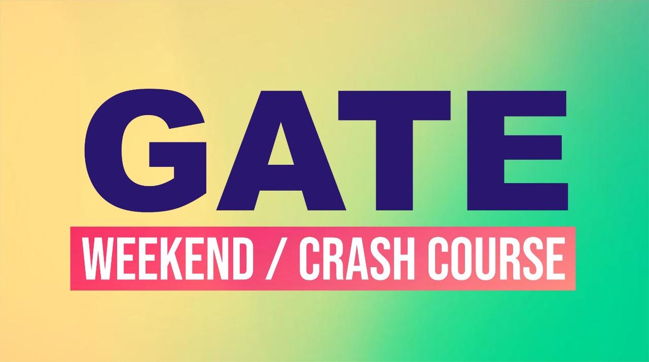 GATE Weekend Crash Course Pune